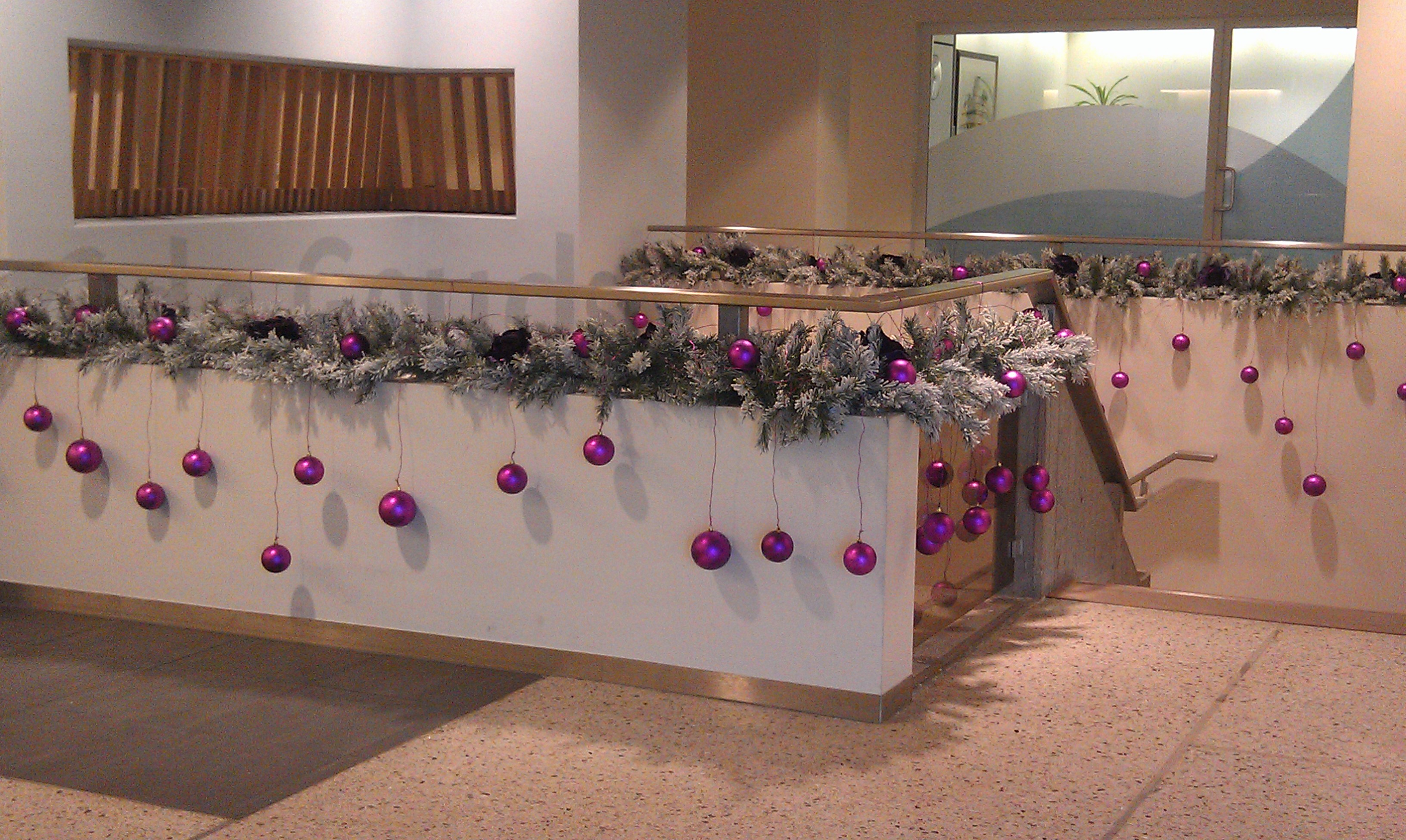 Kerst - Decoratie kantoor ...
