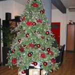 Kerstdecoratie kantoor/etalage